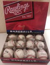 1 Dozen RPBX Rawlings Official League Baseballs *NEW*
