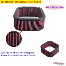 Motorcycle Air Filter For Harley Davidson VRSCA V-ROD 69 CI - All 2002-2006 Red