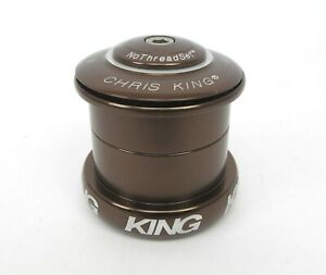 Chris King Inset 5 Headset ZS49 EC49 Tapered Brown - NEW