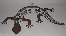 Gecko 62cm, Metall,rost- braun,302115,rostoptik,Gartendeko,Eisendeko,Tierdeko,