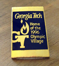 Atlanta 1996 Georgia Tech Home of the 1996 Olympic Village Olympic Pin