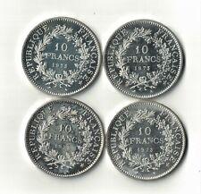 4x10 Francs Hercule 1973 voir scan unc. Top !!!  !!!