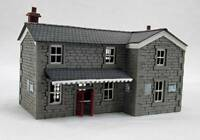 Ancorton Models Country Station / Ticket Office - Laser Cut Wood Kit N Gauge