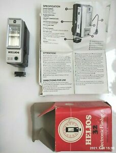 Vintage HELIOS 32 Flashgun Film Camera Shoe Mount Flash