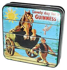 Guinness Gift Tin Of Fudge With Lovely Day For A Guinness Horse And Cart, 100g