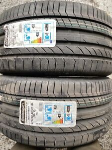 2X 275 30 21  Continental Sport 5 ContiSilent  2753021  275/30/21  XL NEW TYRES