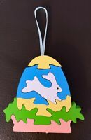 Wooden Easter Ornament Puzzle Style 3.5""