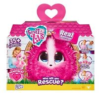 Little Live Scruff-a-Luvs Real Rescue Electronic Pet Pink Model BOX DAMAGE A260