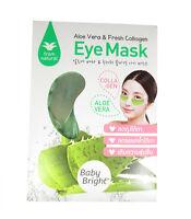 BABY BRIGHT Gel Eye Mask Aloe Vera Collagen Reduce Dark Cycles Puffiness 1 pr.