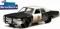 GREENLIGHT 44710-C DODGE MONACO 1975 POLICE model car THE BLUES BROTHERS 1:64th