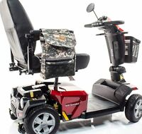 Patriotic Large Deluxe Armrest Bag for Scooter Powerchair J250P MILITARY VA