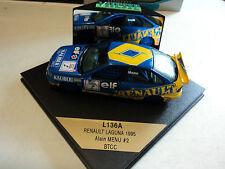 Vitesse 1/43 Renault Laguna #2 BTCC 1995 A. Menu
