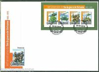 GUINEA BISSAU 2015 40th ANNIVERSARY OF THE END OF THE VIETNAM WAR SHEET FDC