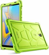Galaxy Tab A 10.5 inch Tablet Case Poetic Soft Silicone Protective Cover Green