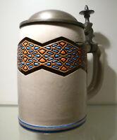 Bierkrug 0,5 Liter, Marzi & Remy Modellnr. 2330, um 1920