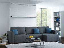 Schrankbett Wandbett mit Sofa Ecke Leggio Linea LW 160 x 200 cm Whitewood