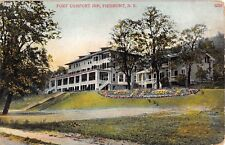 1911 Fort Comfort Inn Piermont on Hudson NY post card Rockland county