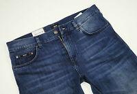 Neu - Hugo Boss  BLACK - Wyoming - W32 L34  Blue Denim Jeans  Regular Fit  32/34