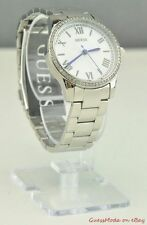 GUESS Silver Strap Adult Wristwatches