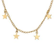 1Pcs Star Gold Chain Gifts New Simple Choker Necklace Neckalce Chocker Women