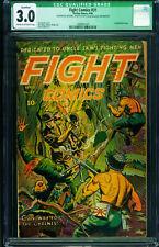 FIGHT COMICS #31-CGC 3.0 qualified-AMAZING DECAPITATION COVER! 1989561001