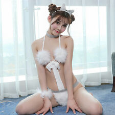 Adult Party Cosplay Cat Girl Costume Sexy-Lingerie-Sleepwear-Women's-G-string