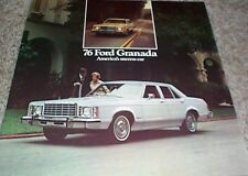 1976 Ford Granada Sales Brochure
