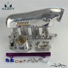 Intake Manifold+ throttle body +Fuel Rail For Mitsubishi Lancer 4G63 EVO 4-9 PL