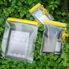 3x Underwater Waterproof Bag Phone Dry Cover Case For Tablet i Phone iPad Camera