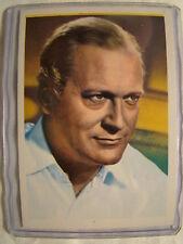 Curd Furgens Number 37  Monty Gum Dutch Trading Card 1960's