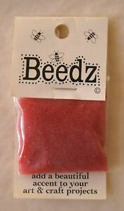 BEEDZ Glass Microbeads Hard to Find Select Color