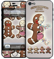 Gelaskin Gelaskins iPhone 5 Jason Freeny Gingerbread Man Dissected