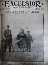 WW1 Gal DUBAIL ARMéES DE L'EST GARIBALDI LES MILLE A QUARTO EXCELSIOR 10/05/1915