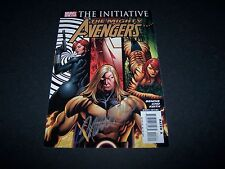 SIGNED FRANK CHO THE MIGHTY AVENGERS #3 THE INITIATIVE BLACK WIDOW TIGRA SENTRY