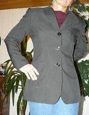 Sexy Blazer Tailliert Grau Edel M / 40