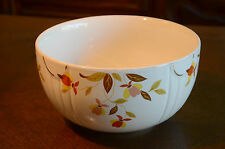 Vintage Superior Hall China by Mary Dunbar Autumn Leaf Serving Bowl Kitchenware