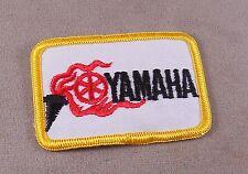 Vintage Yamaha Power Sport Patch, Cap /Jacket / Merrowed Edge, Iron On Backing