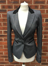 Women's Wool Blend No Pattern Single Breasted Coats & Jackets