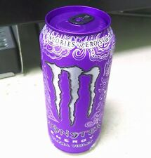 NEW! Monster Energy ULTRA VIOLET - PURPLE TOP! - 16 oz / 473mL Full & Sealed Can