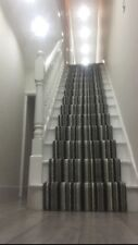 """BRAND NEW! Carpet Stair Runner With U/lay Pads And Gripper 22""""Wide X 27ft Lenth."""