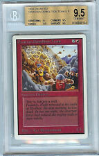MTG Unlimited Dwarven Demolition Team BGS 9.5 Gem Mint Card Magic WOTC