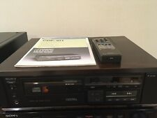 Beautiful Sony CDP-101 Includes Manual, Remote & Rare Sony Case - Multivoltage