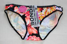 Bonds Ladies 8HK Floral Printed Hipster Bikini Brief Size 16
