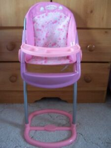BABY ANNABELL DOLL HIGHCHAIR