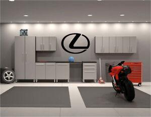 """Lexus Logo Garage Wall Decals 22"""" x 31"""""""