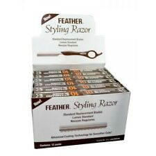 Feather Styling . Blades With Comb Guard Pack of 10