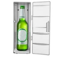 Portable Small USB Car Fridge Freezer Refrigerator Drink Beer Cooler Warmer BS