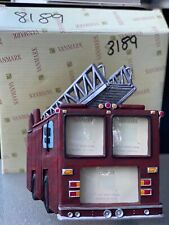 "Red Hats Of Courage Fire Truck Photo Fram By VanMark (7""x6"")"