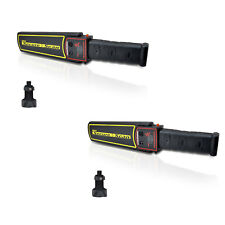 Pyle Secure Scan Handheld Metal Detector Wand Security Safety Scanner (2 Pack)