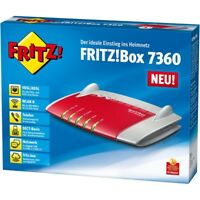 AVM FRITZ!BOX 7360 VDSL-Router VOIP Modem 300MBit/s WLAN IP-Telefonanlage DSL